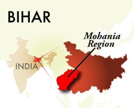 The Mohania Bihar Region