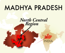 The North Central Madhya Pradesh Region