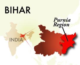 The Purnia Bihar Region