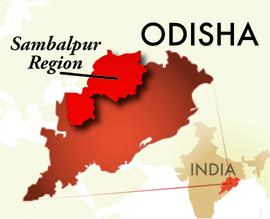 The Sambalpur Odisha Region