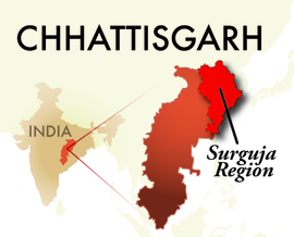 The Surguja Chhattisgarh Region