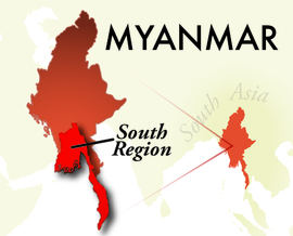 The South Myanmar Region