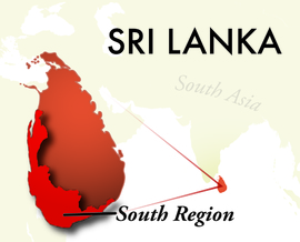 The South Sri Lanka Region