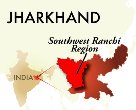 The Southwest Ranchi Jharkhand Region