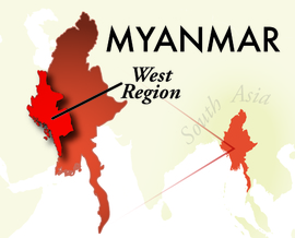 The West Myanmar Region