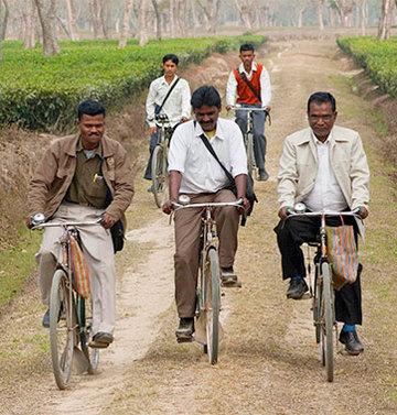 Bicyclettes pour missionnaires