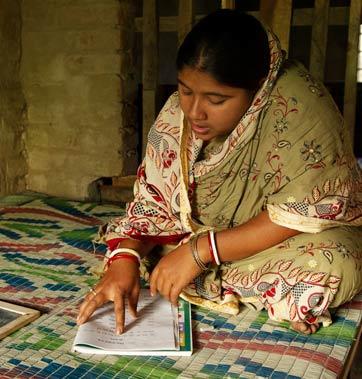 Programme d'alphabétisation pour femmes