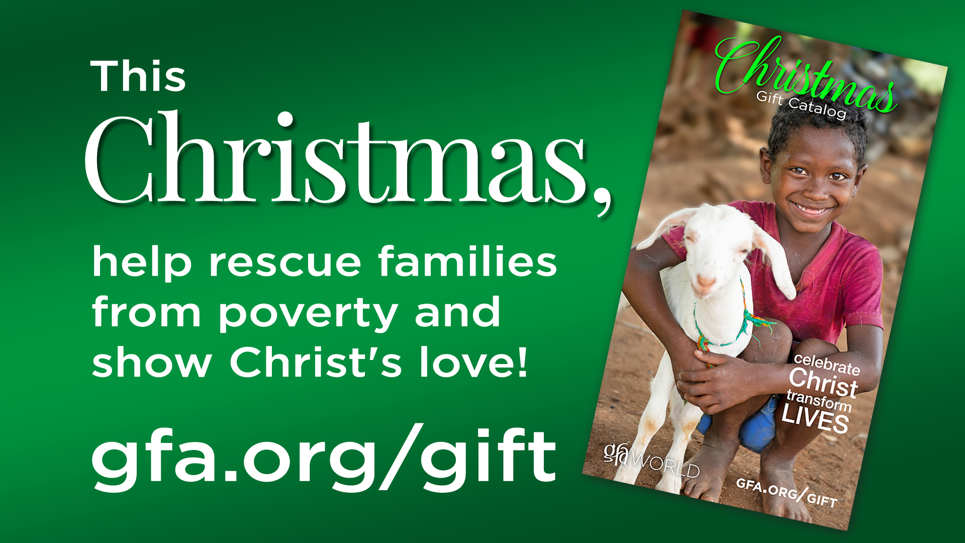 Gift Catalog Order Form - GFA\'s Christmas Gift Catalog