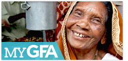 Bless leprosy patients through myGFA