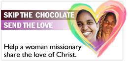 Skip the chocolate. Send the love.