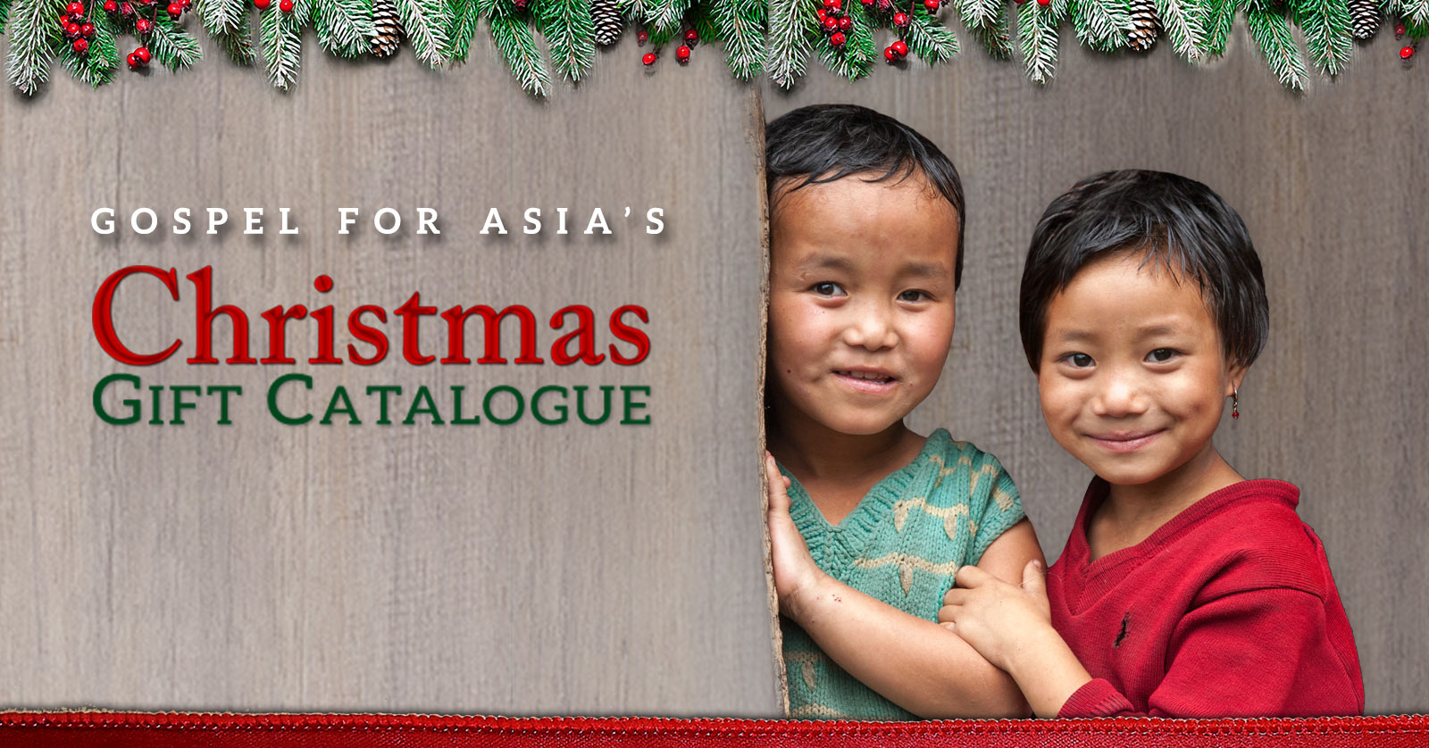 Gift Catalogue Order Form - GFA\'s Christmas Gift Catalogue