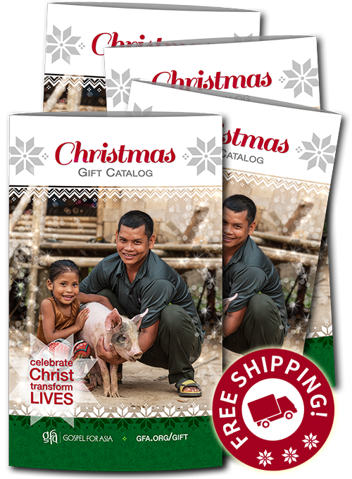 Gospel for Asia Christmas Gift Catalog