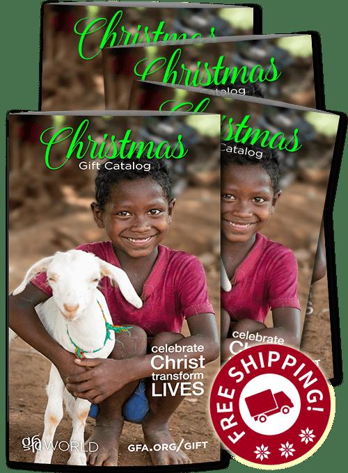 Gospel for Asia Christmas Gift Catalog
