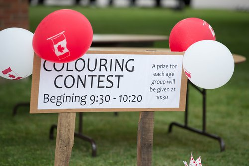 Colouring Contest Sign