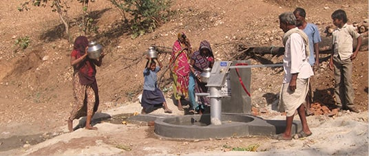 A Village Starving for Water