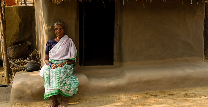 widows are often neglected and seen as a burden.
