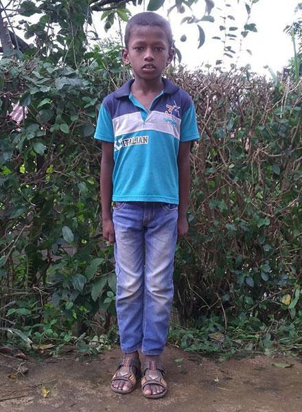 Boy in GFA World's Child Sponsorship Program