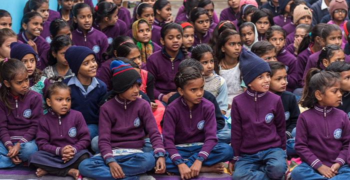 Children in GFA World's Child Sponsorship Program