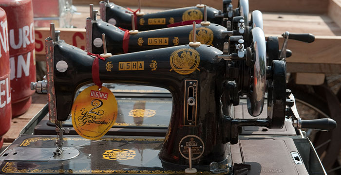 sewing machines help overcome poverty