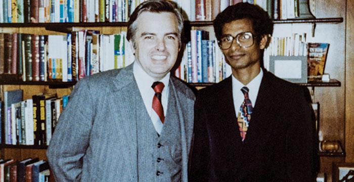 David Mains and KP Yohannan