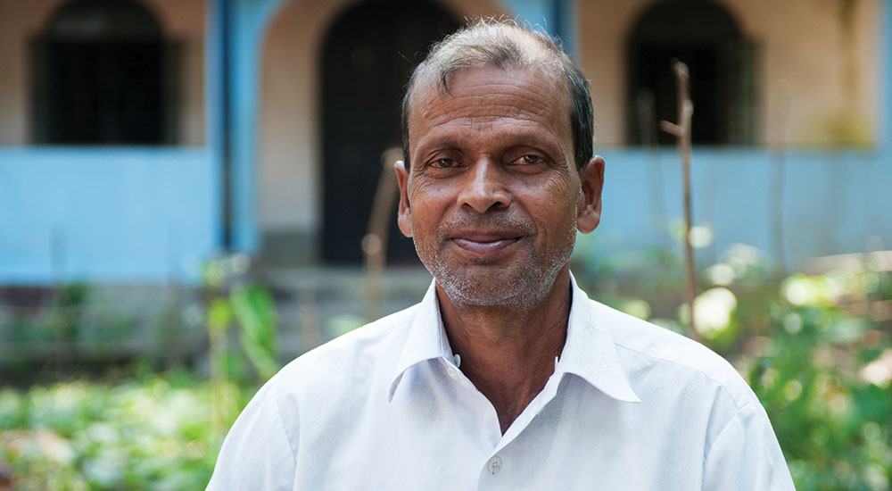Pastor Dhinanath is one of the pastors serving near the red-light district.