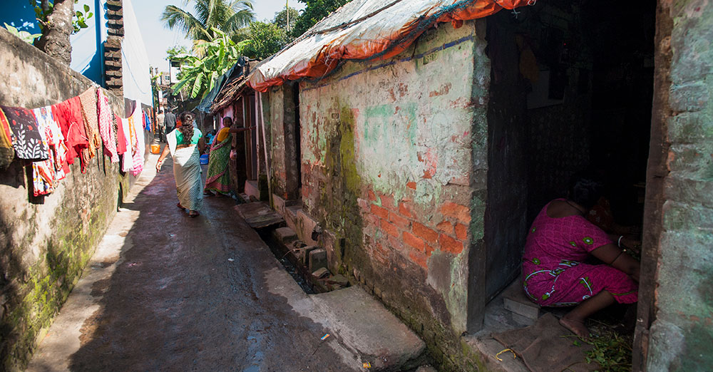 The red-light district where Pastor Dhinanath and his wife do ministry