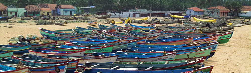 100 Boats for 1,000 Fishermen who Survived Cyclone Ockhi