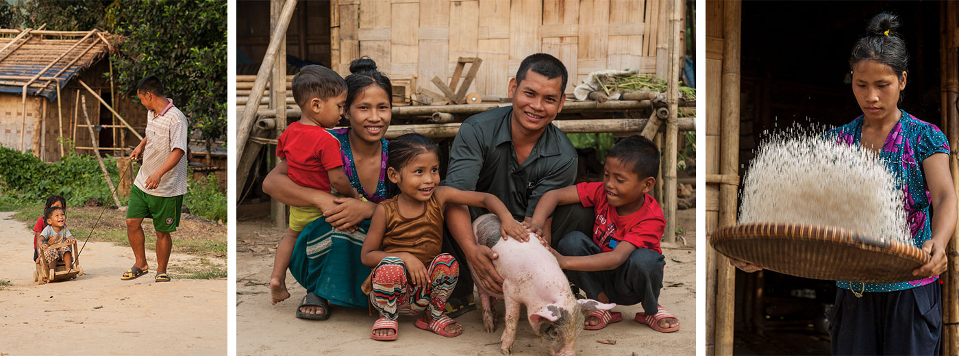 Mahavir is able to provide for his family