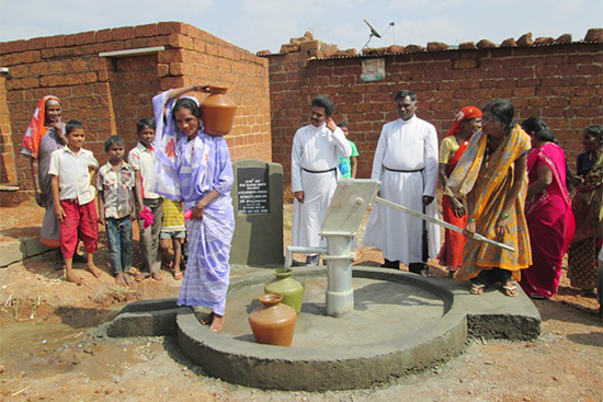 Four New Wells Bring Clean Water to 5,300 People