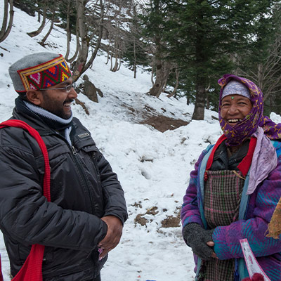 Pray for Discernment in Distributing Blankets and Winter Clothing