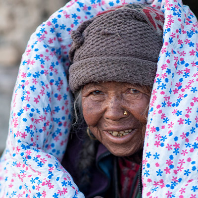 Pray Gift Recipients Will Feel the Warmth of God's Love