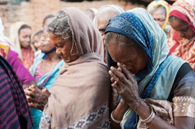 Pray for the leprosy patients