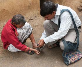 Prions pour les gens atteints de la lèpre