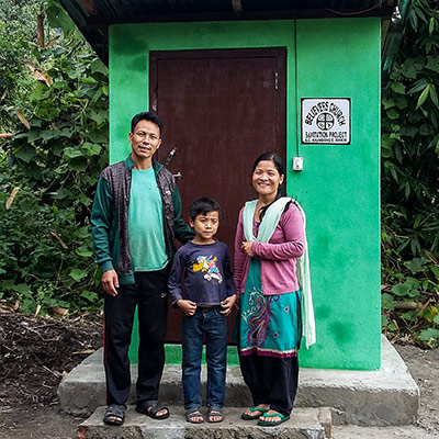Pray for Resources to Provide Sanitation Facilities