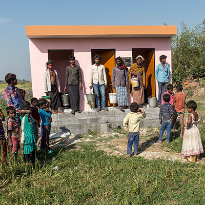 Pray for People to Implement Sanitation Practices as a Community