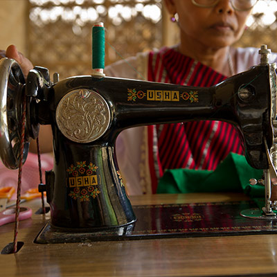 Pray for Provision Through Sewing Machines