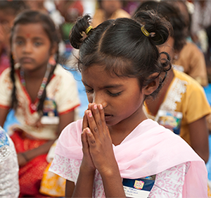 Pray for children's hearts to be changed by Christ's grace