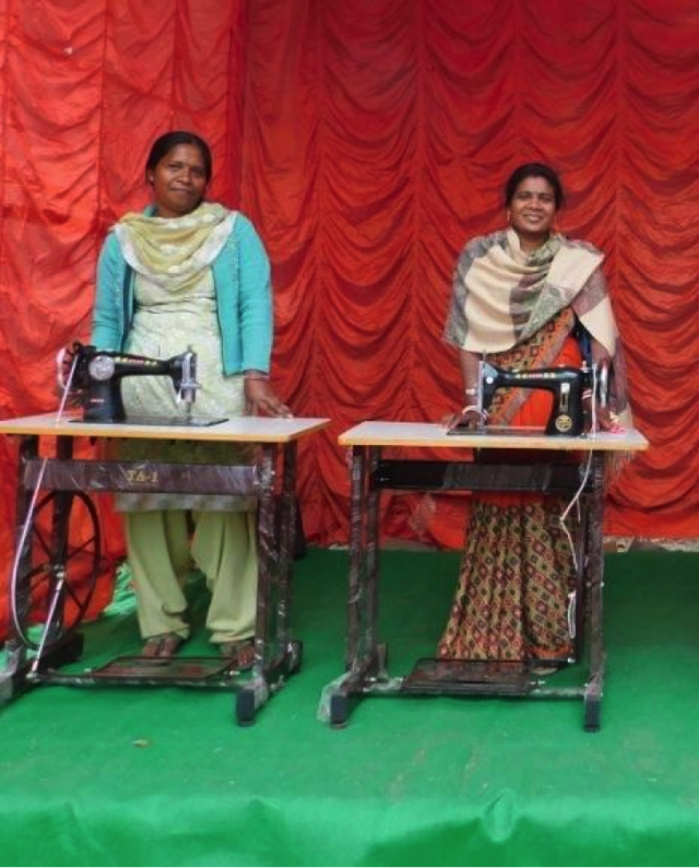 Sewing Machine Distribution Helps the Forsaken Stitch Together a New Life