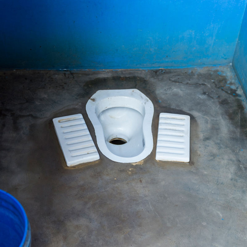 A Squat Toilet in Asia