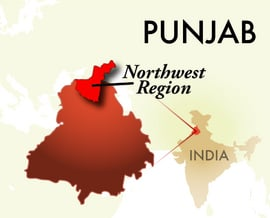The Northwest Punjab Region