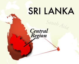 The Central Sri Lanka Region