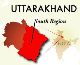 The South Uttarakhand Region