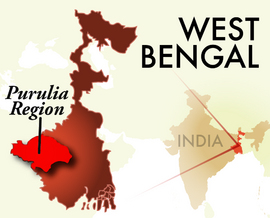 The Purulia West Bengal Region