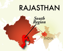 The South Rajasthan Region