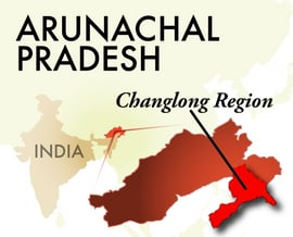 The Changlong Arunachal Pradesh Region