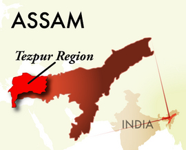 The Tezpur Assam Region