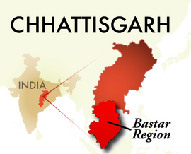 The Bastar Chhattisgarh Region
