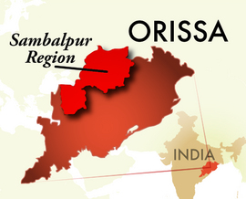The Sambalpur Orissa Region