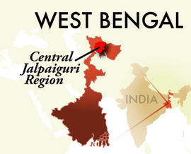 The Central Jalpaiguri Jaigaon Region