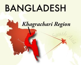 The Khagrachari Bangladesh Region